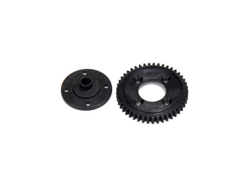 45T Spur Gear, Plastic: 8E 2.0