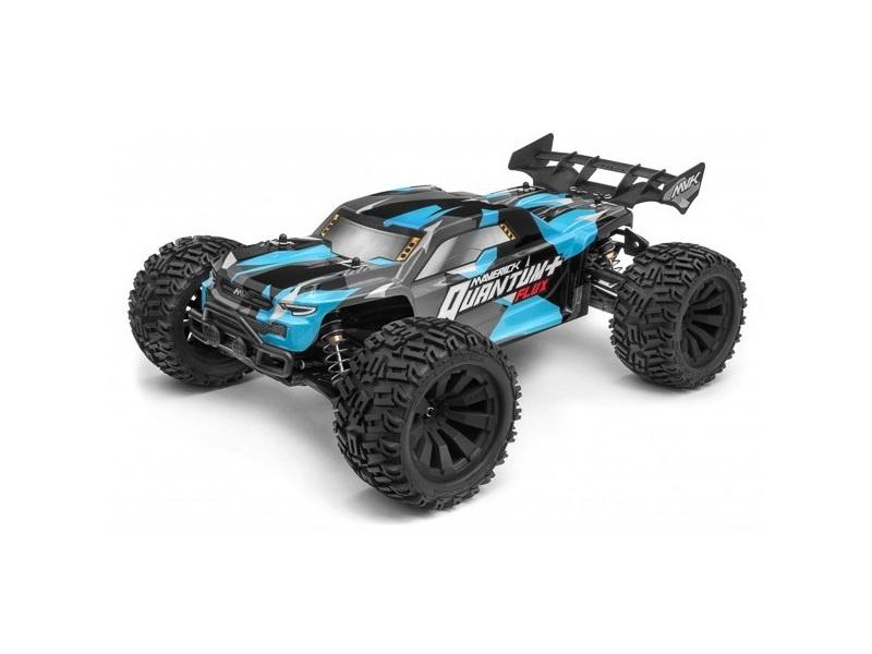 Quantum+ XT Flux 3S 1/10 4WD Brushless Stadium Truck - blau