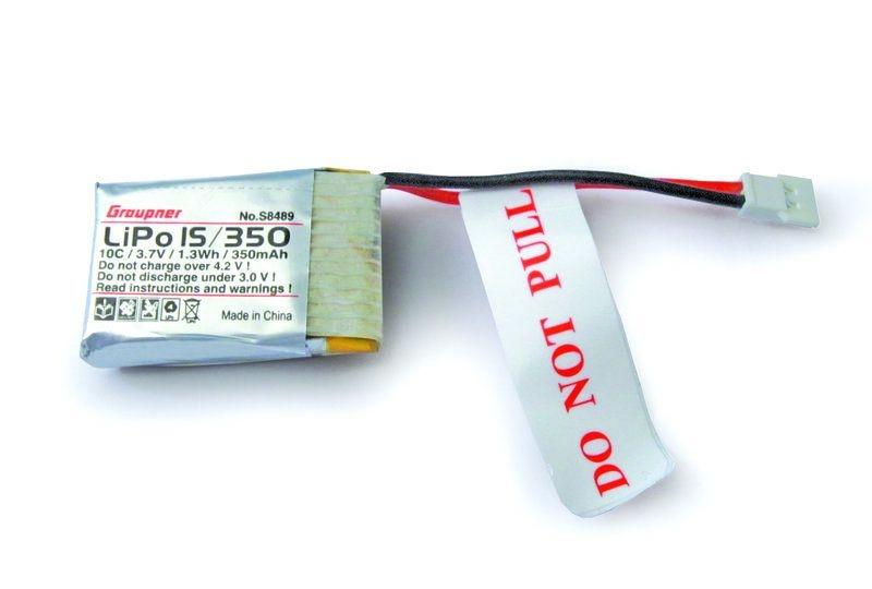 LiPo Einzelzelle V-MAXX 20C 1S 350mAh für Alpha 110