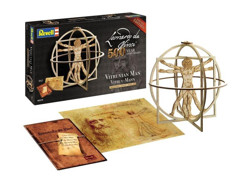 500 Jahre Leonardo da Vinci Vitruvian Man