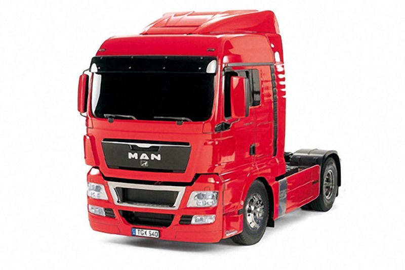 MAN TGX 18.540 4x2 XLX - Red Edition Truck RC Bausatz 1:14