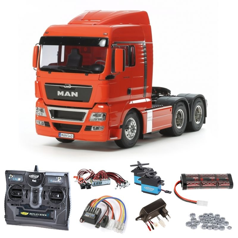MAN TGX 26.540 6x4 XLX Komplettset + LED, Kugellager