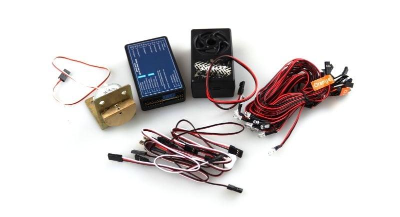Beleuchtung und Sound-Vibrationssystem für Trucks
