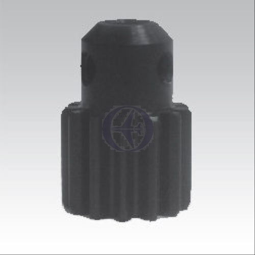 Motor-Ritzel HELI, Modul 1, 12 Zähne, Stahl, 5mm Welle
