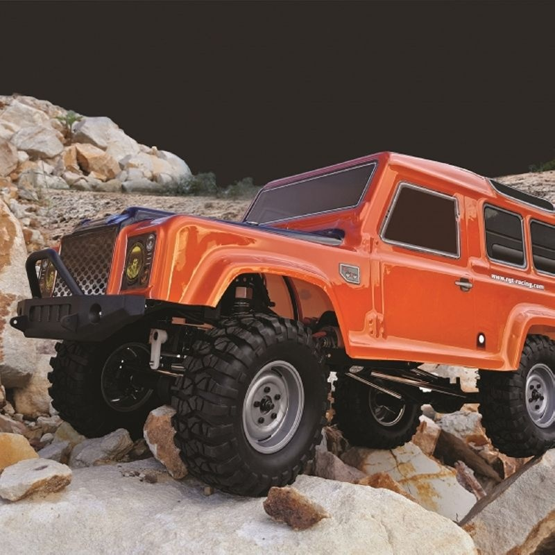 FMR-X2 SUV Crawler 4WD 1/10 LED 2,4GHz 100% RTR, orange