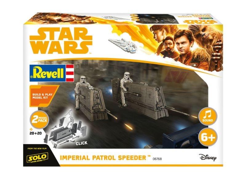 Star Wars Imperial Patrol Speeder Build & Play Bausatz 1/28