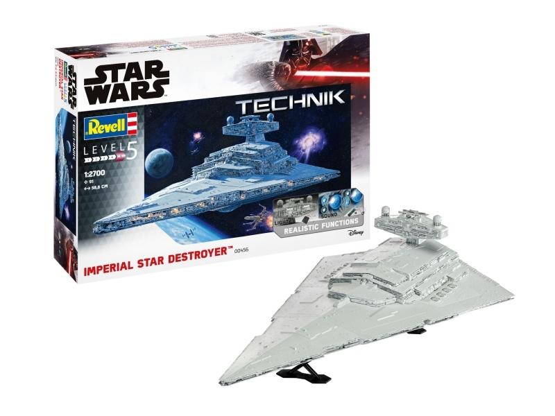 Star Wars Imperial Star Destroyer 1:2700 Technik Bausatz