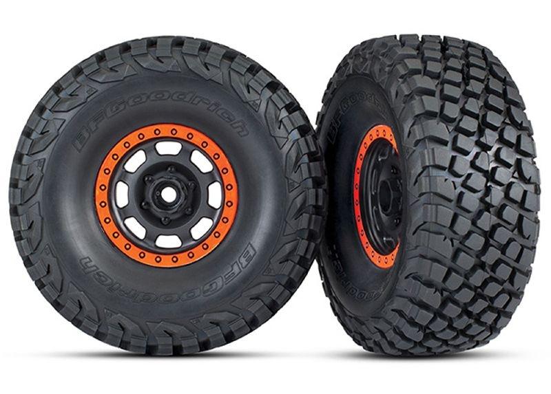 BFGoodrich Baja KR3 Reifen auf Felge montiert Desert Racer