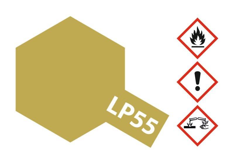 LP-55 Dunkelgelb 2 matt Kunstharzfarbe 10ml