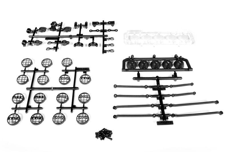 Universal 5 fach Set Lampenhalter Set Crawler
