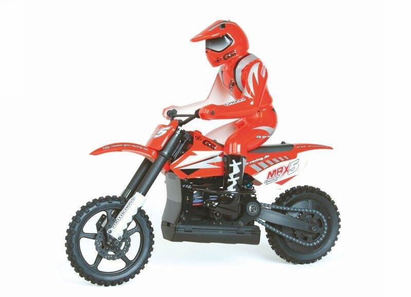 WP MRX5 Cross Rider RC Motorrad 1:5, 2,4GHz RTR