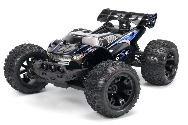 E5 HX 4WD Monster Truck 1/10 waterproof 2,4GHz RTR, blau