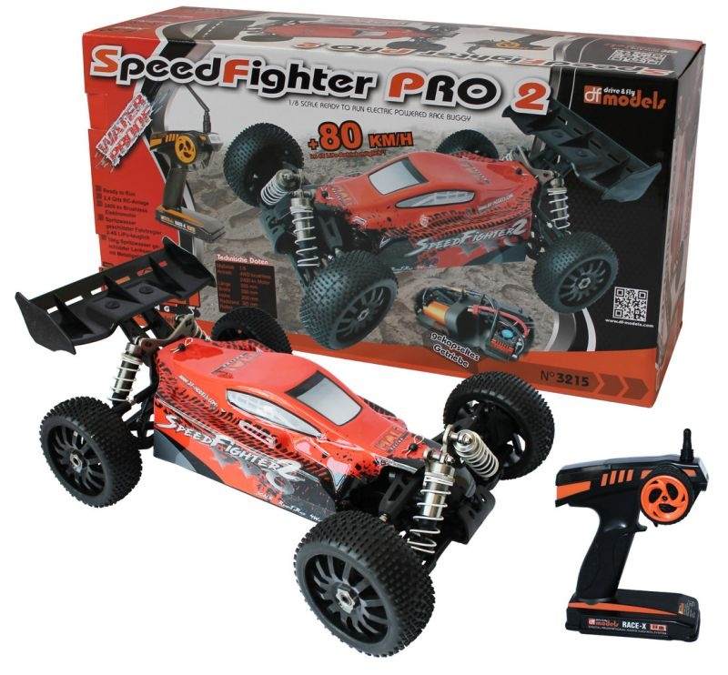 SpeedFighter Pro 2 4WD Buggy Brushless 1/8 RTR