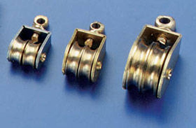 Messingblock doppelt Bausatz 4mm (4 Stück)
