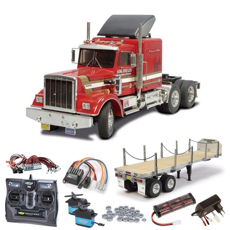 Truck King Hauler komplett inkl. Flachbett, LED, Kugellager