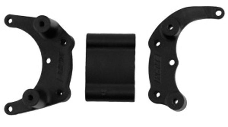 Bumper Montage hinten schwarz Slash/Rust./Stmp.