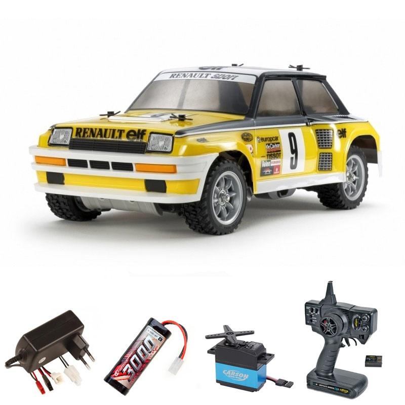 Renault 5 Turbo Rally 2WD 1:12 M-05Ra Bausatz Komplettset