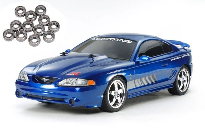 Mustang SVT Cobra R 95 4WD 1/10 TT-01E Bausatz + Kugellager