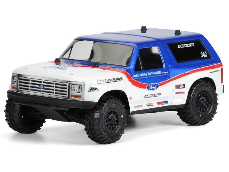 1981 Ford Bronco Karosserie (klar) TRX Slash 2WD/4WD, SC10
