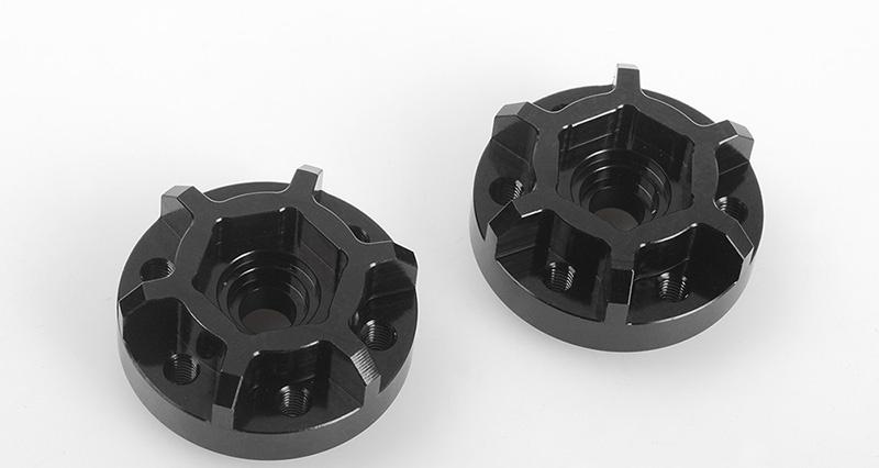 CNC Alu Mitnehmer 12mm (Offset schmal) 1/10 Beadlock Felge