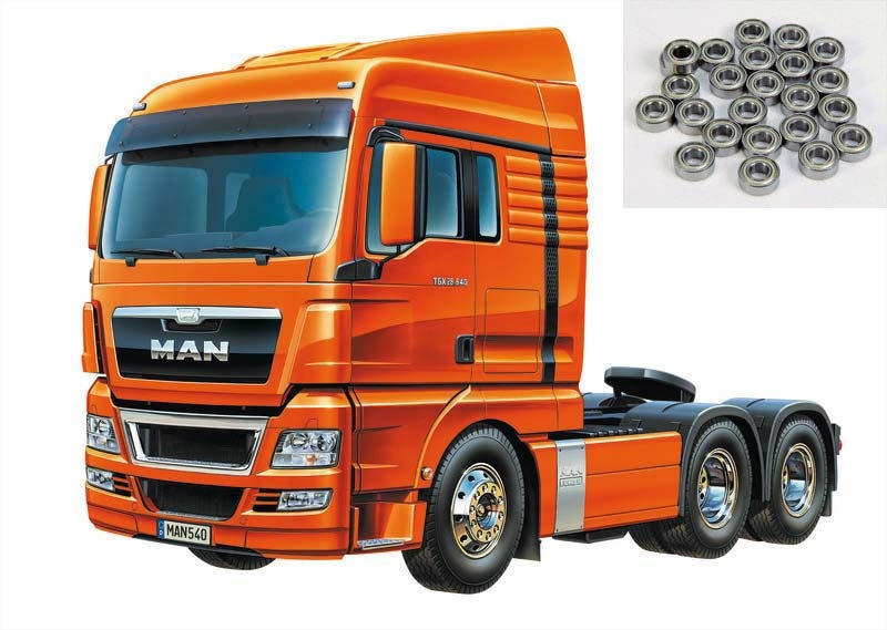 MAN TGX 26.540 6x4 XLX  + Kugellager