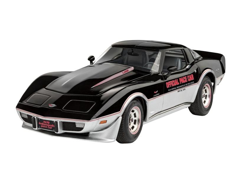 78 Corvette Indy Pace Car Bausatz 1:24