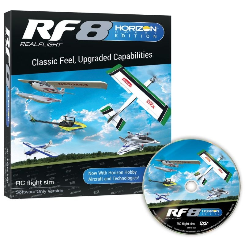 RF8 Modellflug Simulator Horizon Hobby Edition, nur Software