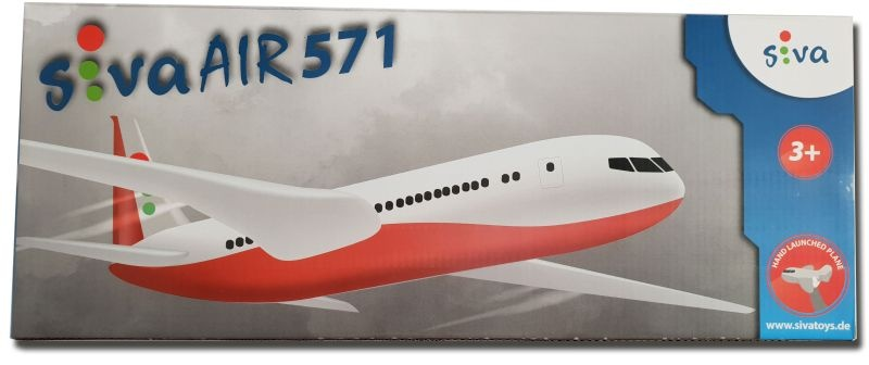 Air 571 Flugmodell Wurfgleiter in rot