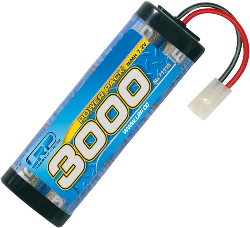 Power Pack 3000 - 7.2V - 6-Zellen NiMH Stickpack