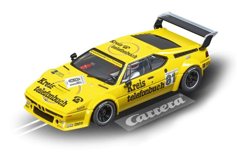 Digital 124 BMW M1 Procar Team Winkelhock, No.81, 1979
