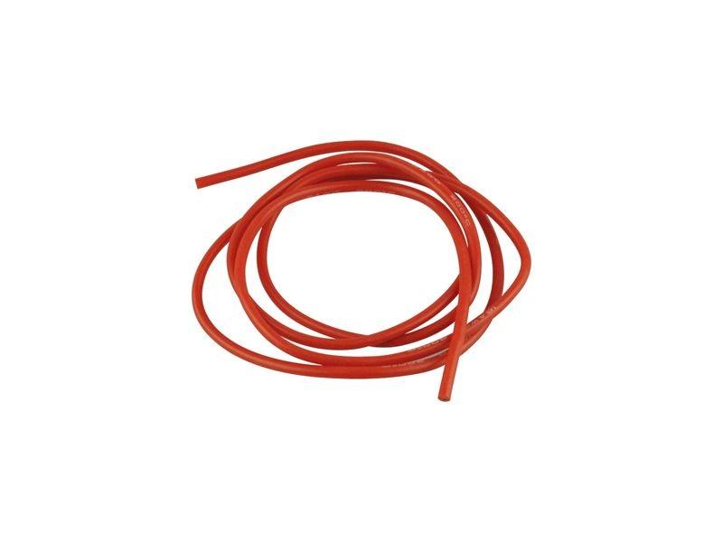 Premium Silikonkabel hochfelxibel 1m 1,50qmm rot