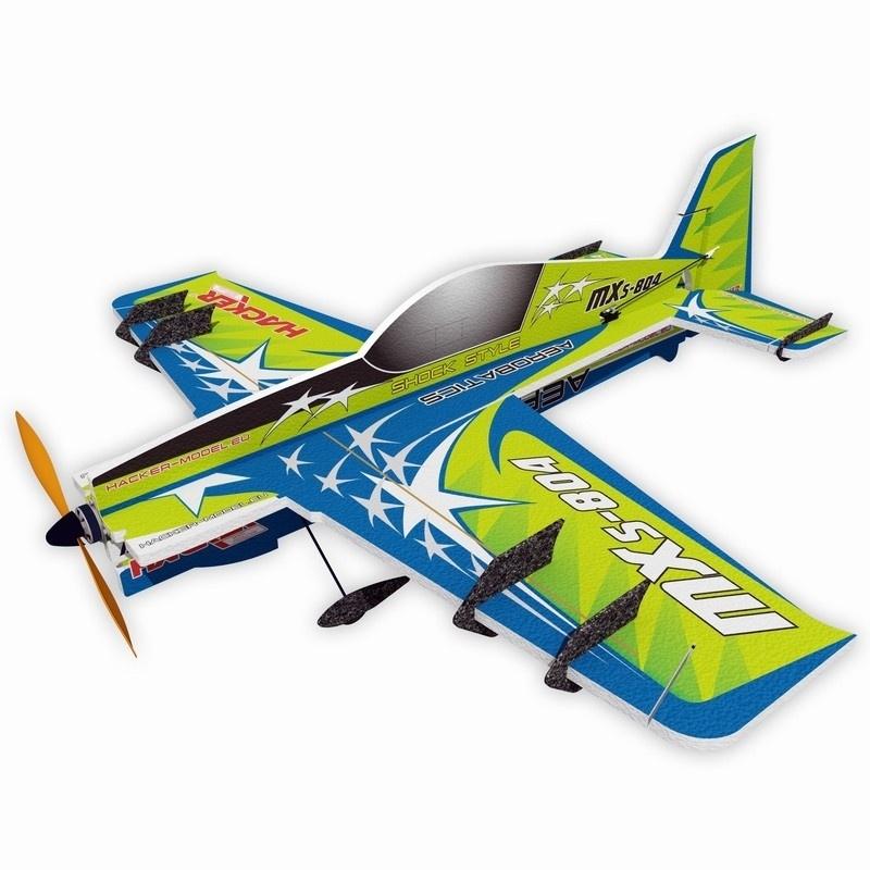 MXS-804 Vector Kunstflugzeug 800mm ARF