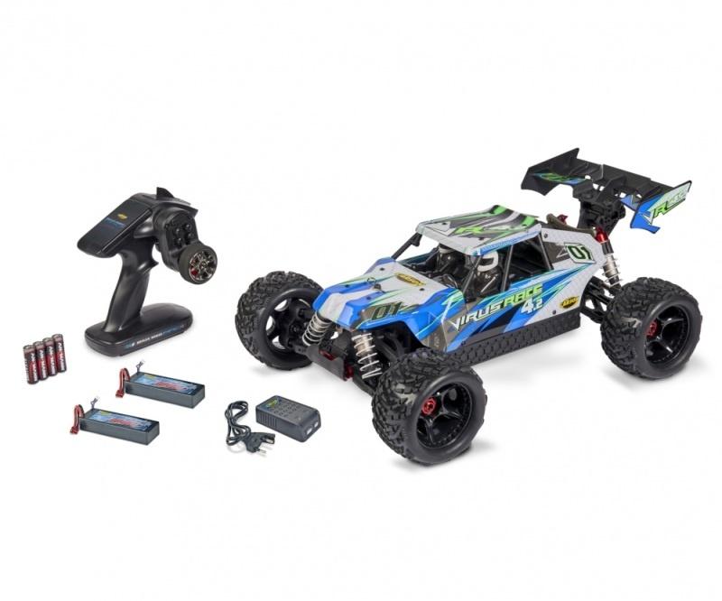 Virus Race 4.2 4WD 4S Brushless 1:8 100% RTR
