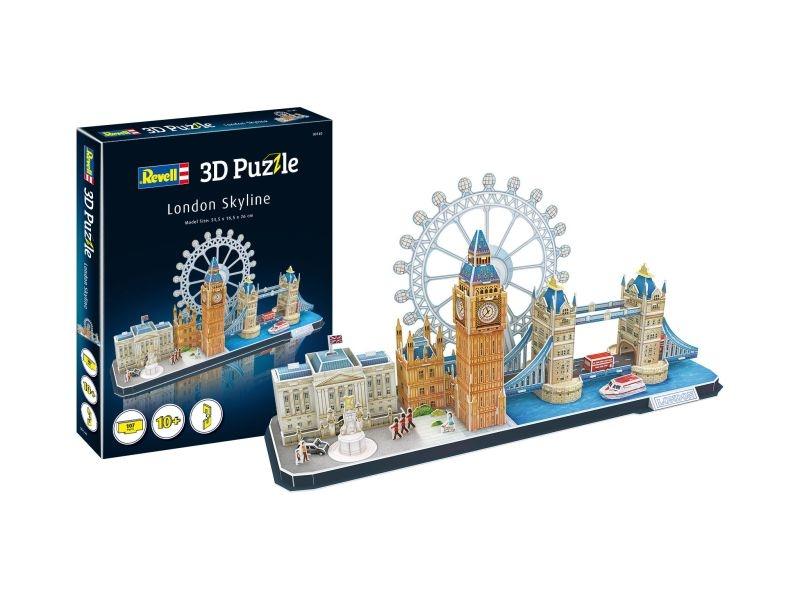 3D Puzzle London Skyline 107 Teile