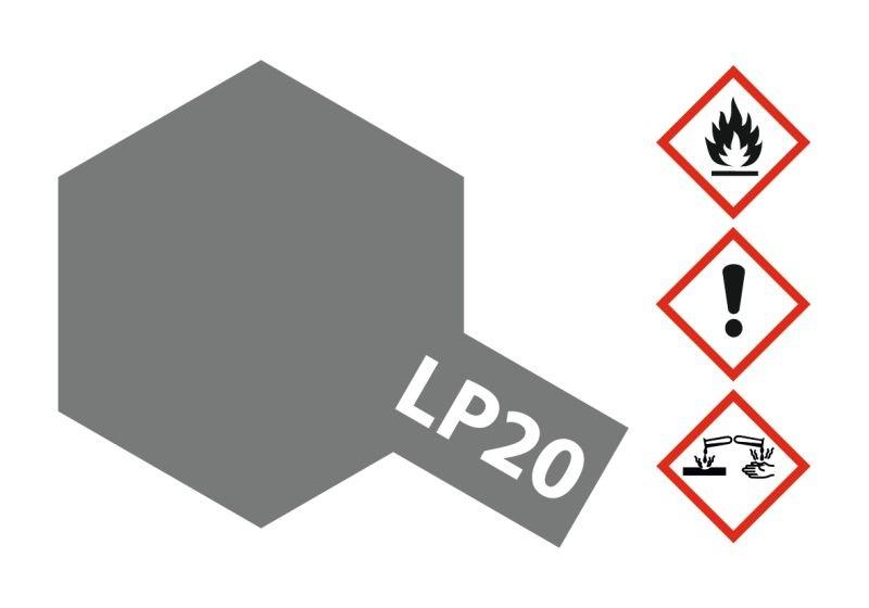 LP-20 Hell Gun Metal Kunstharzfarbe 10ml