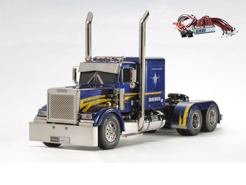 Grand Hauler Customized 1:14 - Exklusiv + LED-Lichtset