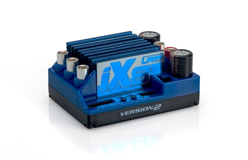iX8 V2 Brushless Regler 1:8 2-6S Lipo  Fahrtenregler 6A BEC