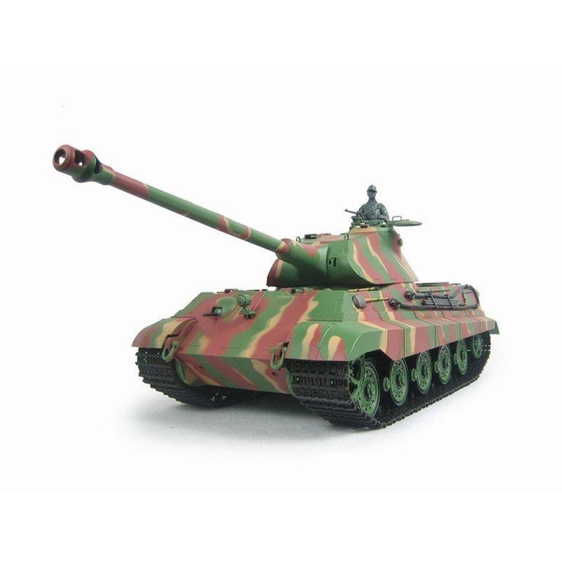 Königstiger mit Porsche Turm BB RC Panzer 1/16 RTR