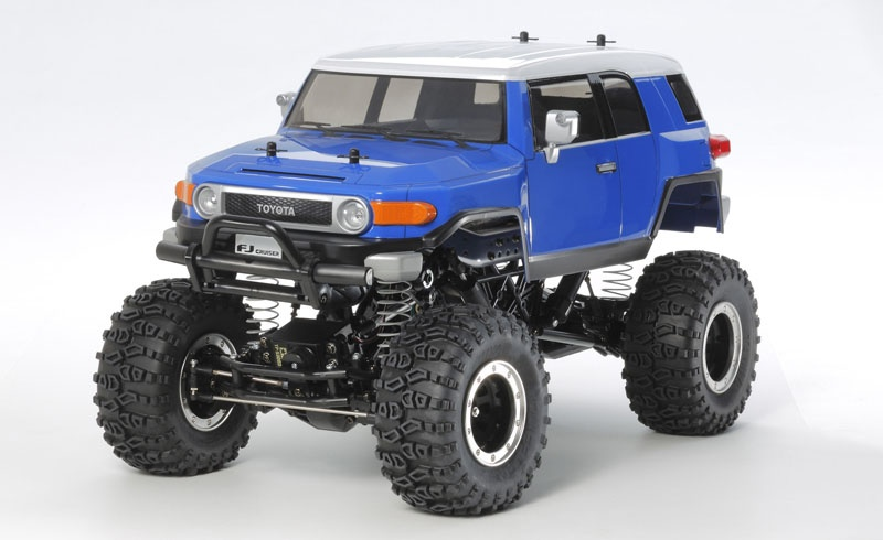tamiya 1 10 rc toyota fj cruiser cr 01 84411 ebay. Black Bedroom Furniture Sets. Home Design Ideas