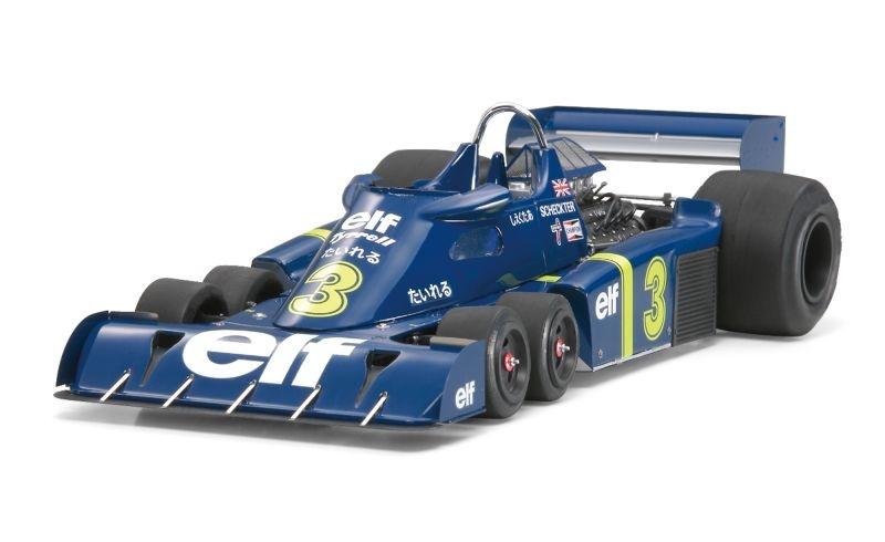 Tyrell P34 `76 Japan Grand Prix mit Photoätzteilen 1:20
