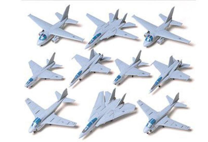 US NAVY AIRCRAFT SET I 1:350