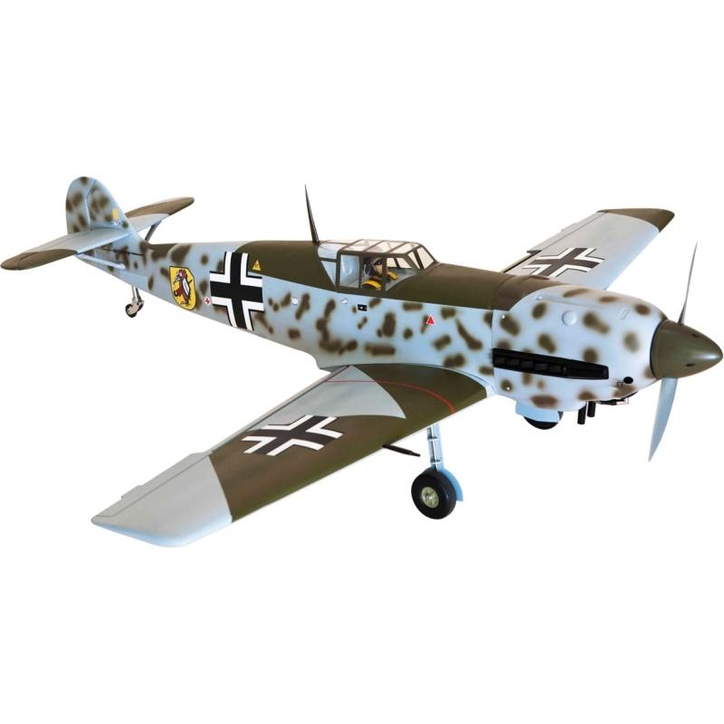 Messerschmitt BF-109 Warbird 1625mm ARF + Einziehfahrwerk