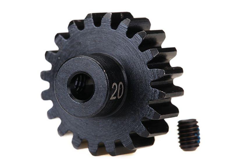 Stahl (gehärtet) Motorritzel 20T - 32dp (3,17mm)