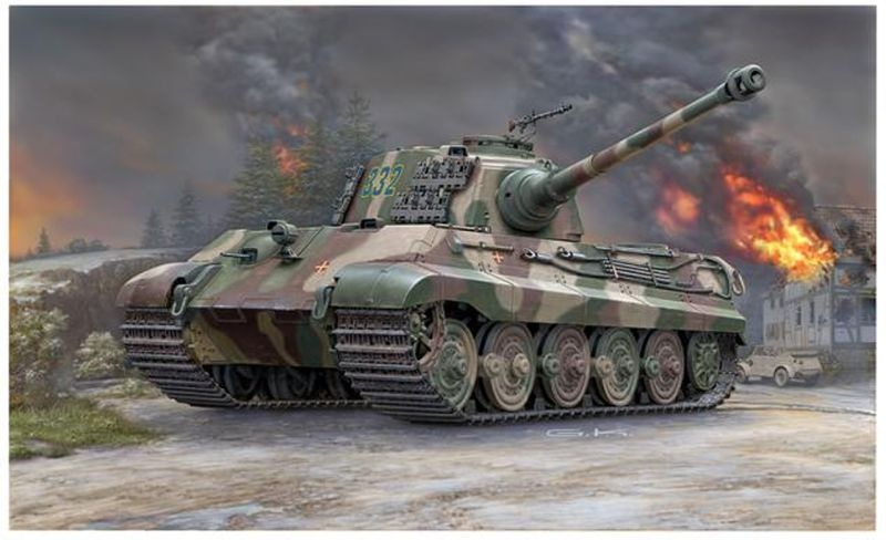Tiger II Ausf.B (Henschel Turret) 1:35