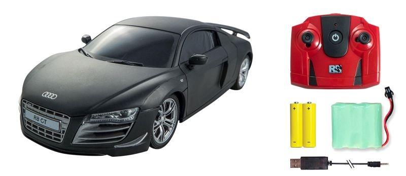 Audi R8 GT RC-Car 1/24 2,4GHz RTR in schwarz