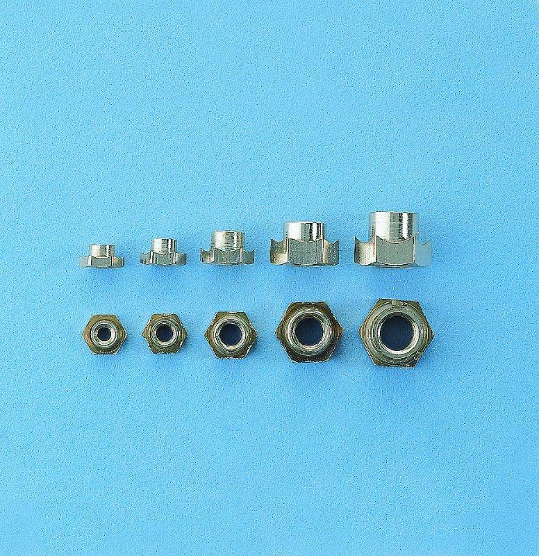 Einschlagmutter M6 - 10 Stück