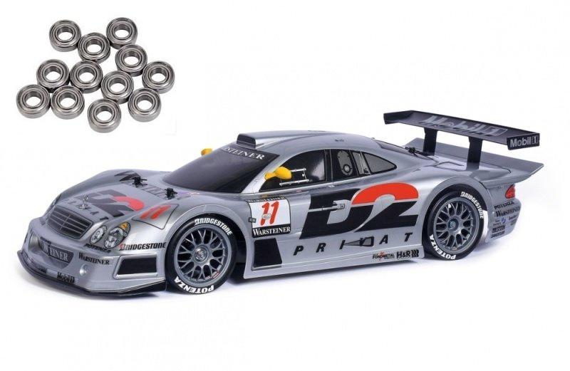 Mercedes-Benz CLK-GTR 1997 TT-01E 1:10 Bausatz + Kugellager