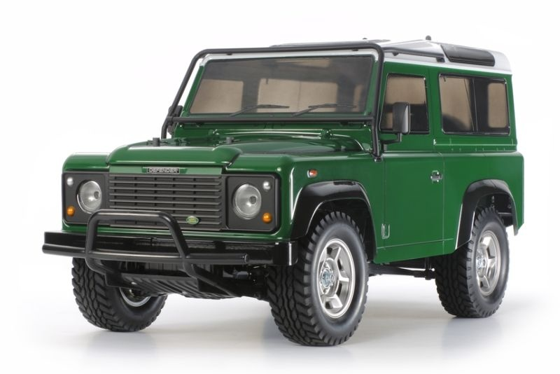 Land Rover Defender 90 Scaler CC-01 /10 Bausatz, Regler, LED