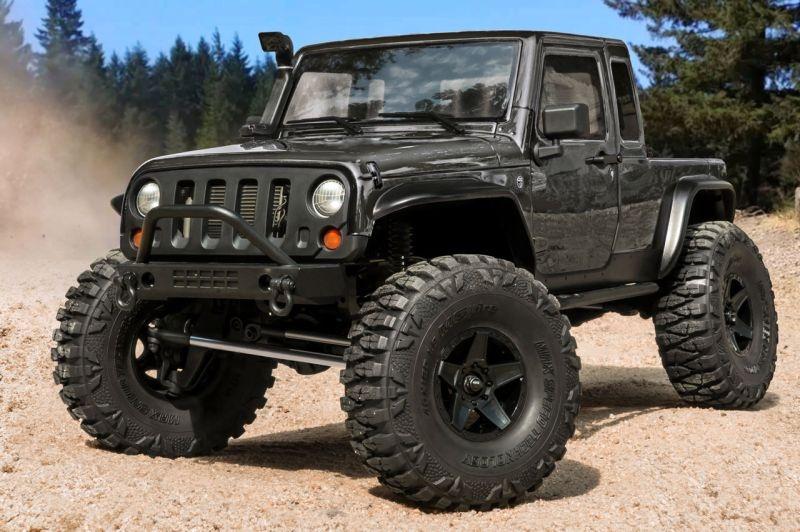 CFX-W JP1 4WD Crawler 1/10 2,4GHz RTR, grau