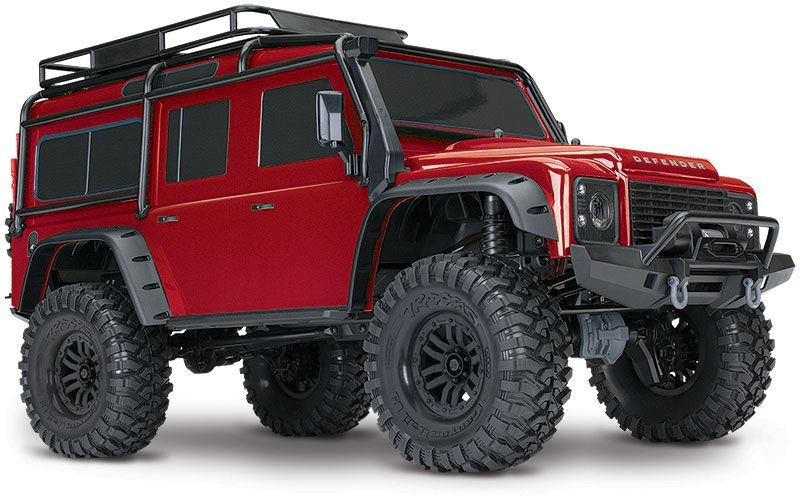 TRX-4 Scale and Trail Crawler rot 1:10 4WD RTR